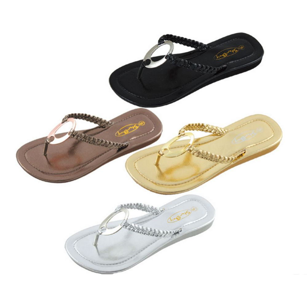 7fbbac65d6811 Wholesale Footwear Womens Flip Flop Assorted Color - at ...