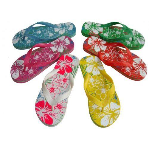 Wholesale Footwear Lady Printed Flip Flop