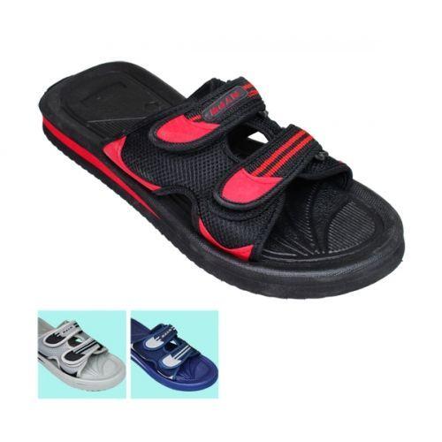 Wholesale Footwear Mens 2 Snap Sandal
