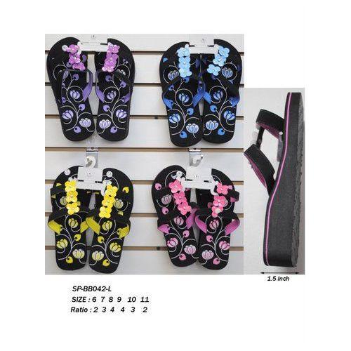 Wholesale Footwear Ladies Printed Flip Flop