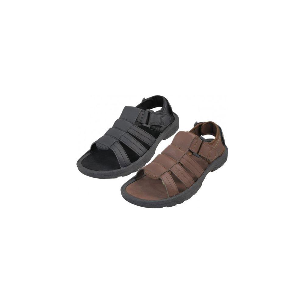Wholesale Footwear Men's Velcro Sandal