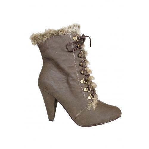 Wholesale Footwear Ladies Winter Heel Boot