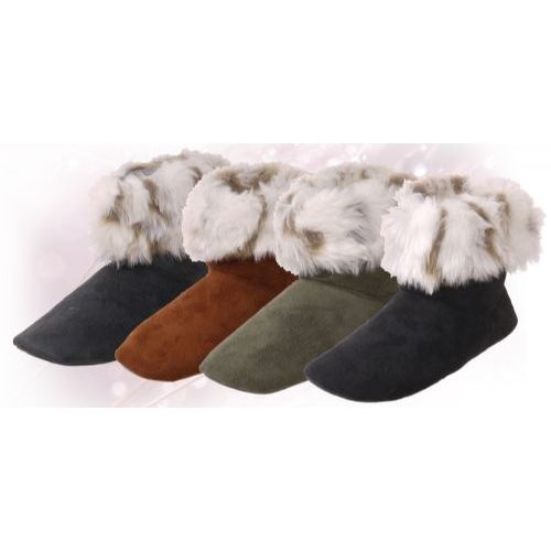 "Wholesale Footwear Isadora"" Womens Bootie Slippers"