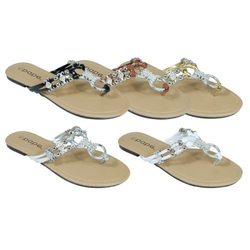 Wholesale Footwear Ladies Fancy Flip Flops