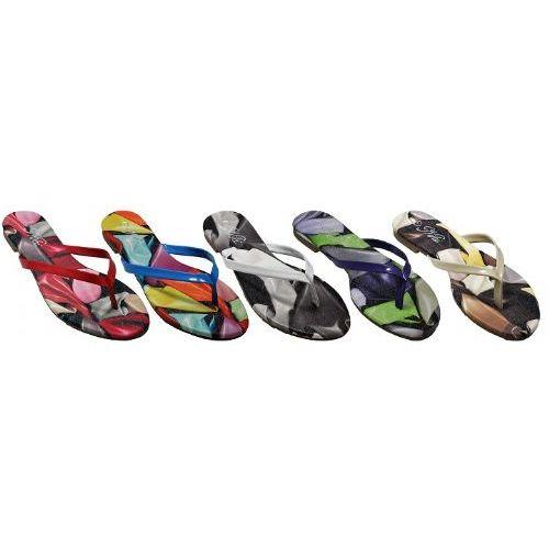 Wholesale Footwear Ladies Summer Print Flip Flop