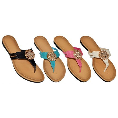 Wholesale Footwear Ladiesfashion Flip Flop