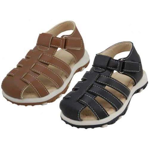 Wholesale Footwear Boy's Velcro Sandals