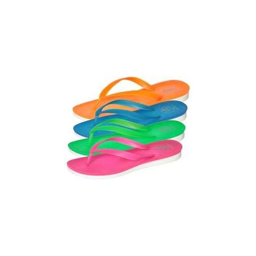 Wholesale Footwear Women's Neon Flip Flops