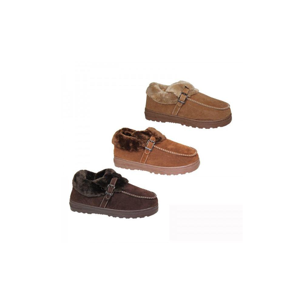 Wholesale Footwear Ladies Winter Shoe Slipper Assorted Colors
