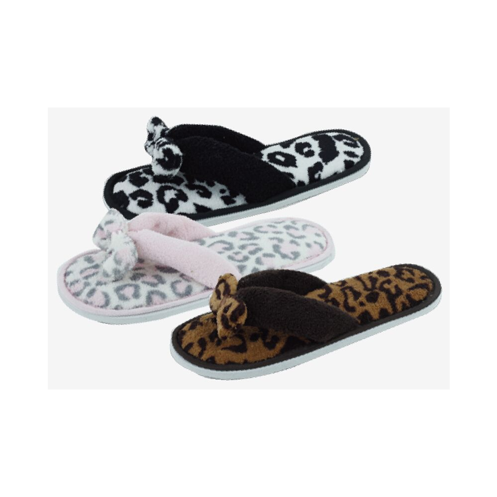 Wholesale Footwear Ladies Fashion Winter House Flip Flops
