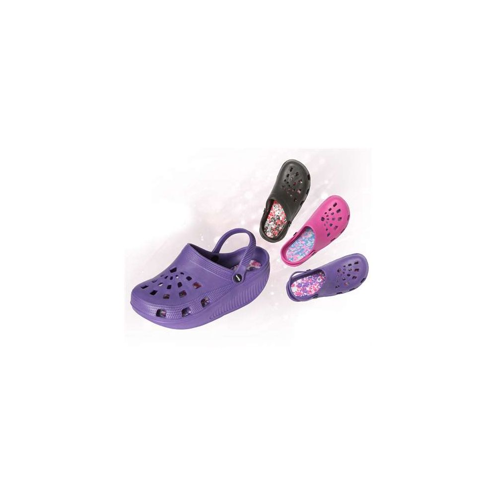 Wholesale Footwear Women's Rocking Clog In Assorted Colors And Sizes.