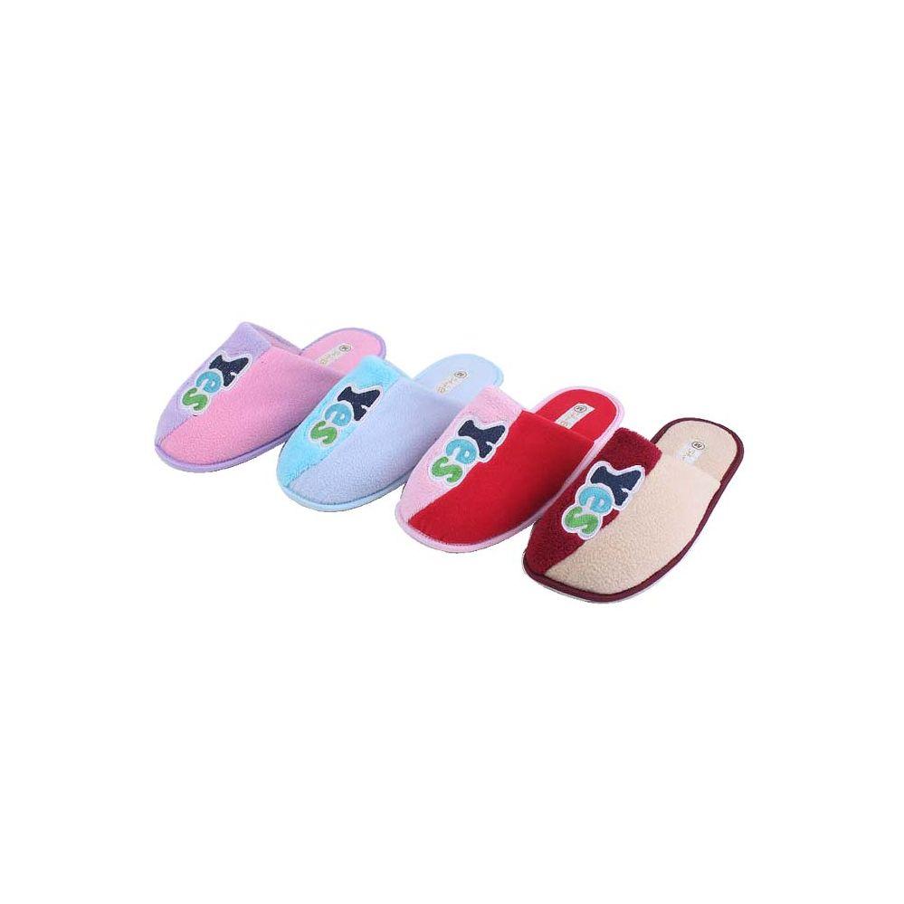 Wholesale Footwear Ladies Yes House Slipper