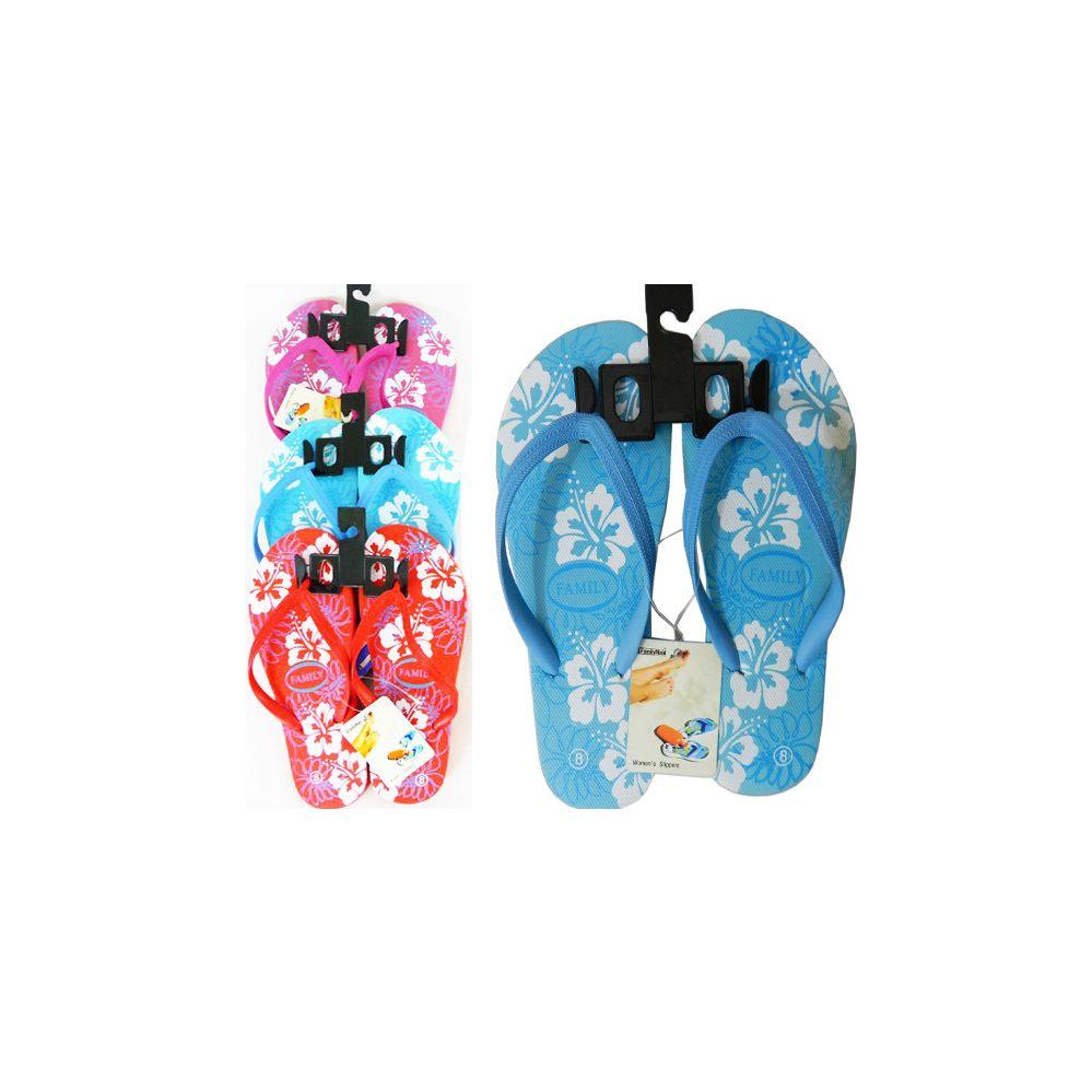 Wholesale Footwear Womens Flip Flop Size 6-10 3asst