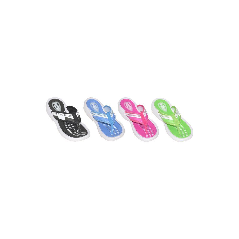 Wholesale Footwear Woman Assorted Color Flip Flops