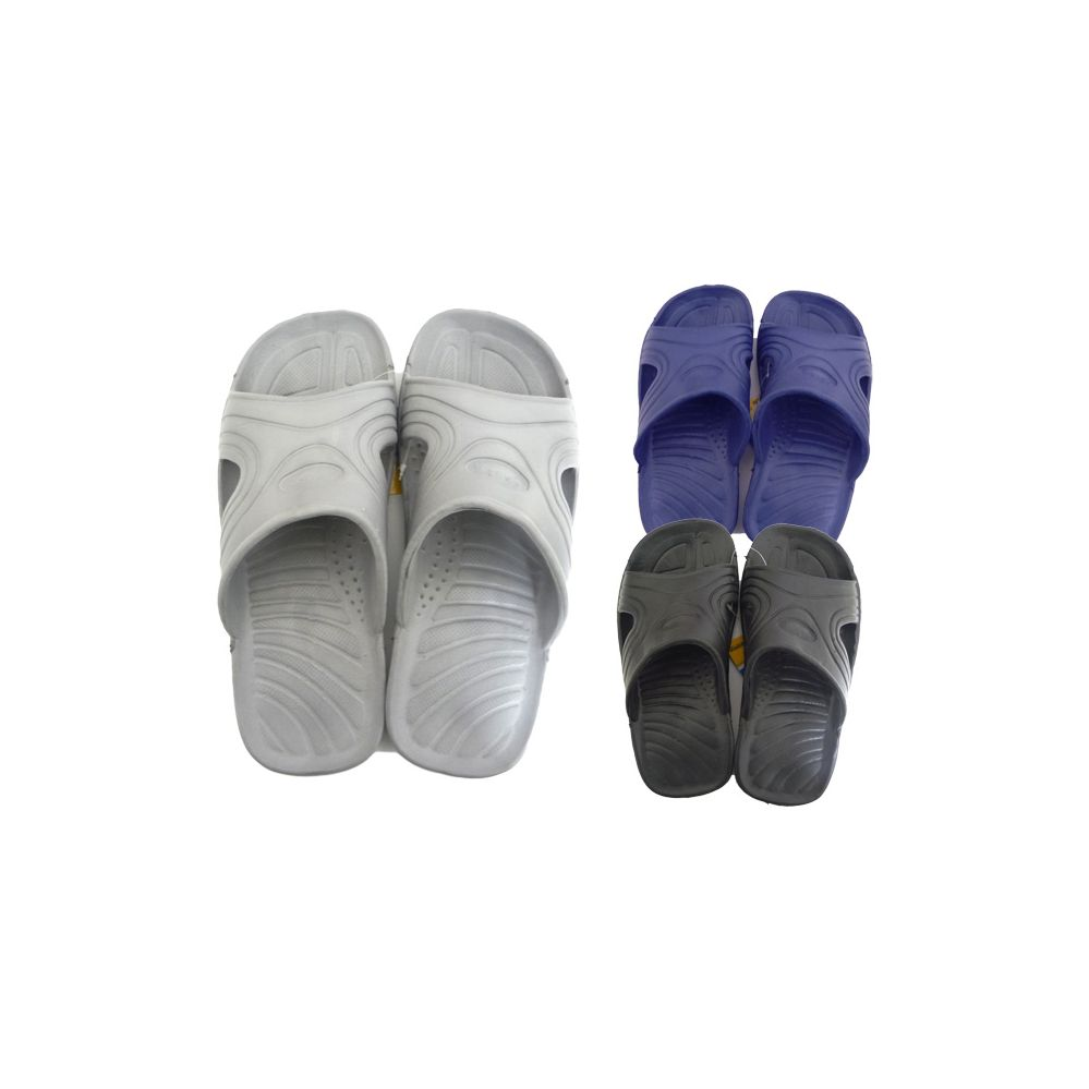 Wholesale Footwear Men's Shower Slipper in Assorted Colors
