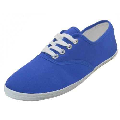 Casual Canvas Shoes ( *royal Blue Color