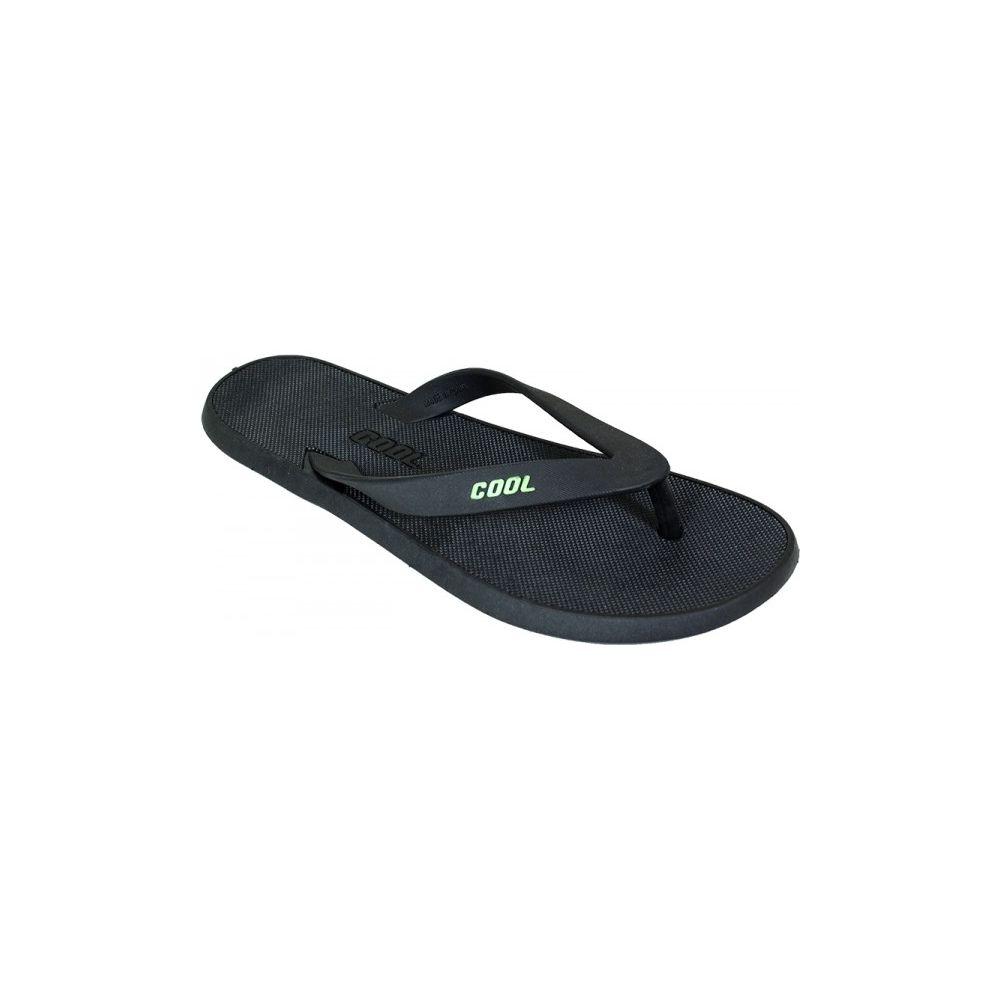 Wholesale Footwear Woman's All Black Flip Flop