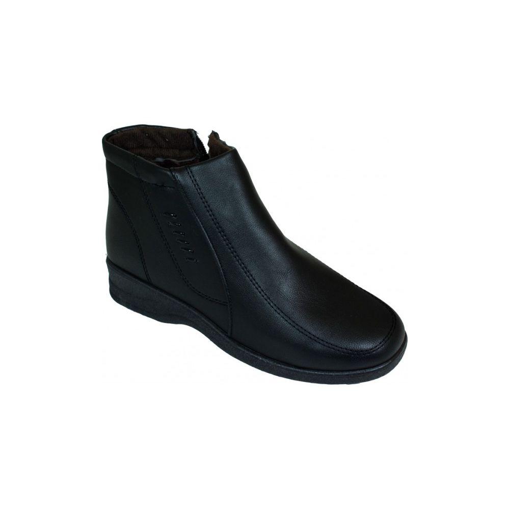 Wholesale Footwear Ladies Fashion Winter Ankle Boot (Black)