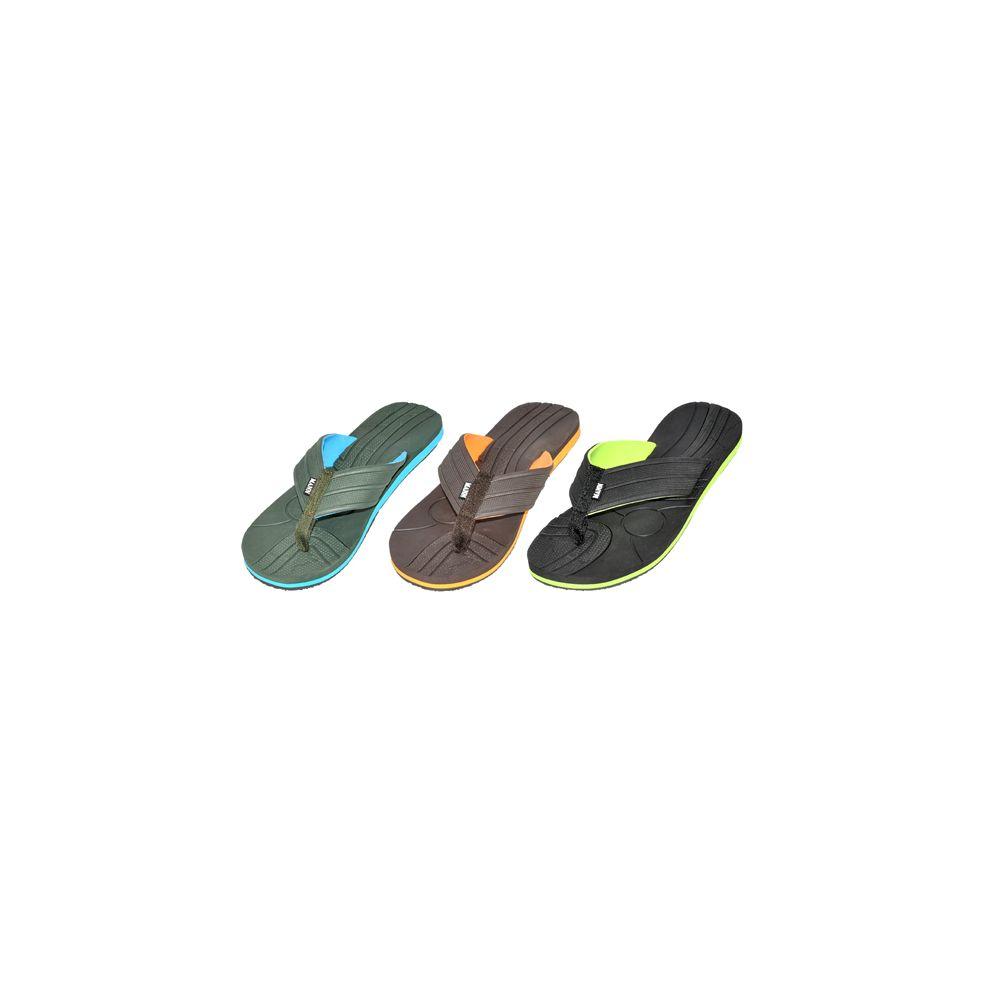 Wholesale Footwear Mans Sport Assorted Flip Flop