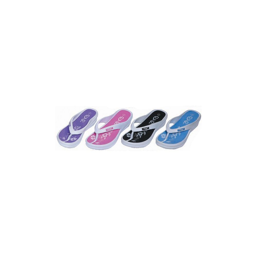 Wholesale Footwear Womans Flip Flop Assorted Color