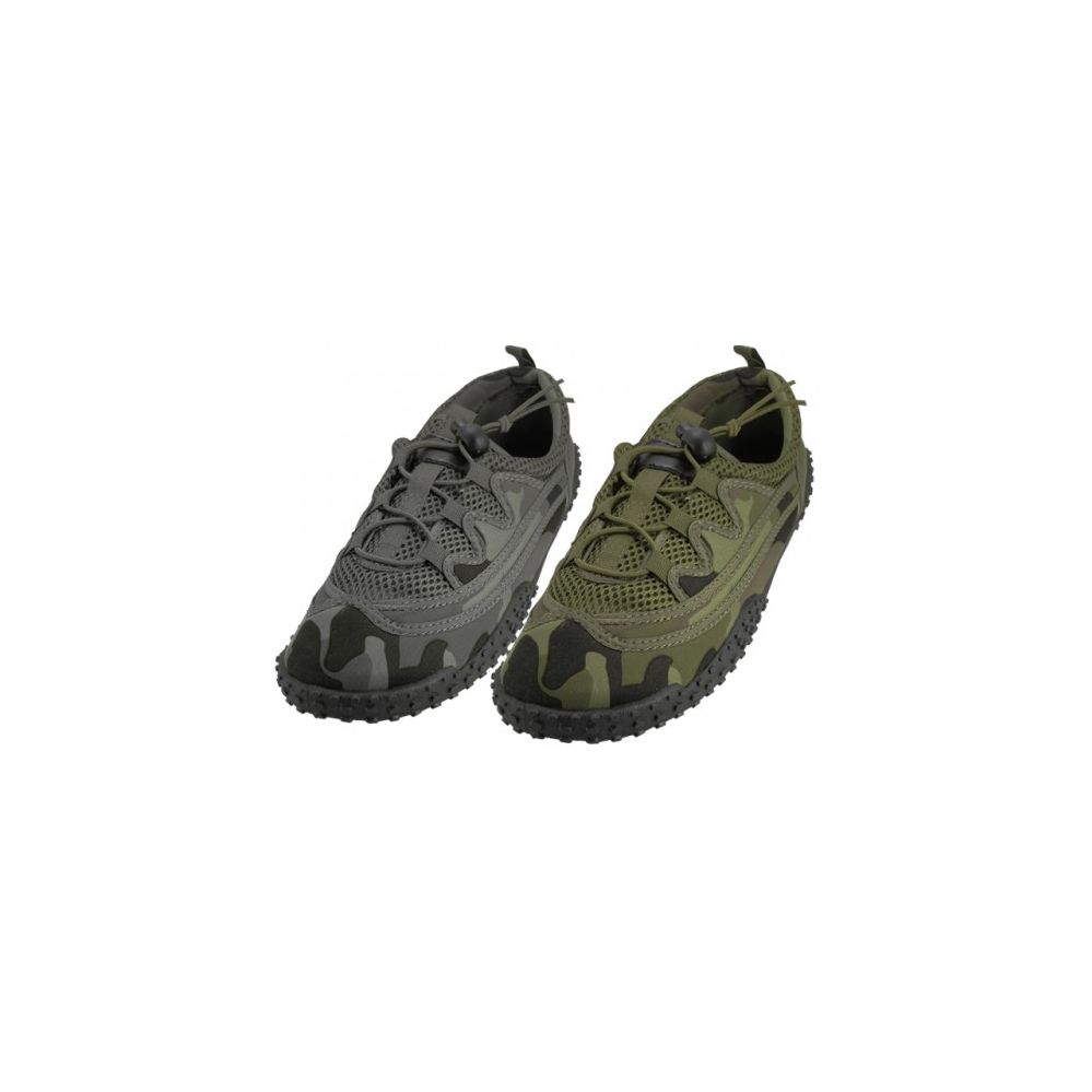 """Wholesale Footwear Men Camouflage Lace Up """"Wave"""" Water shoes"""