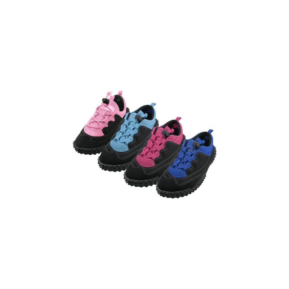 "Wholesale Footwear Women's Lace Up ""Wave"" Water Shoes"