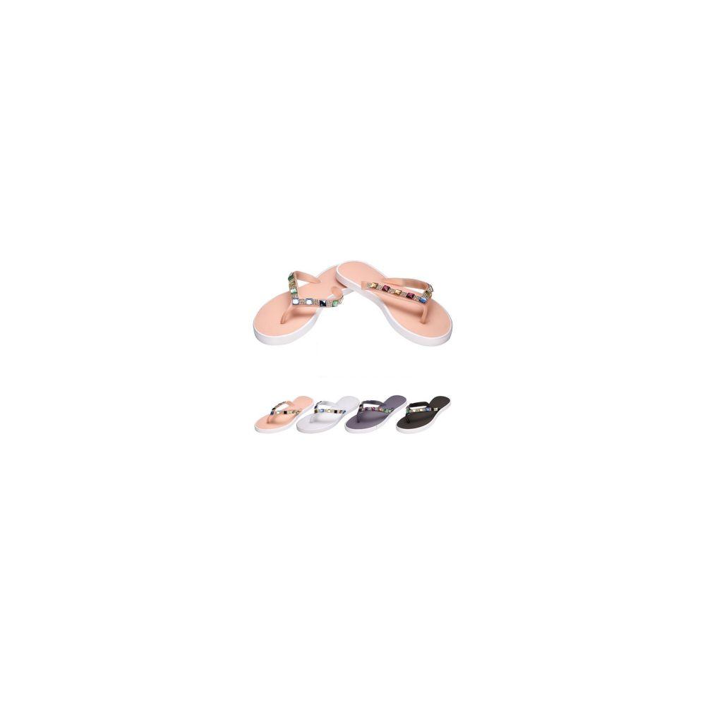 Wholesale Footwear Ladies Flip FlopS-Jewel