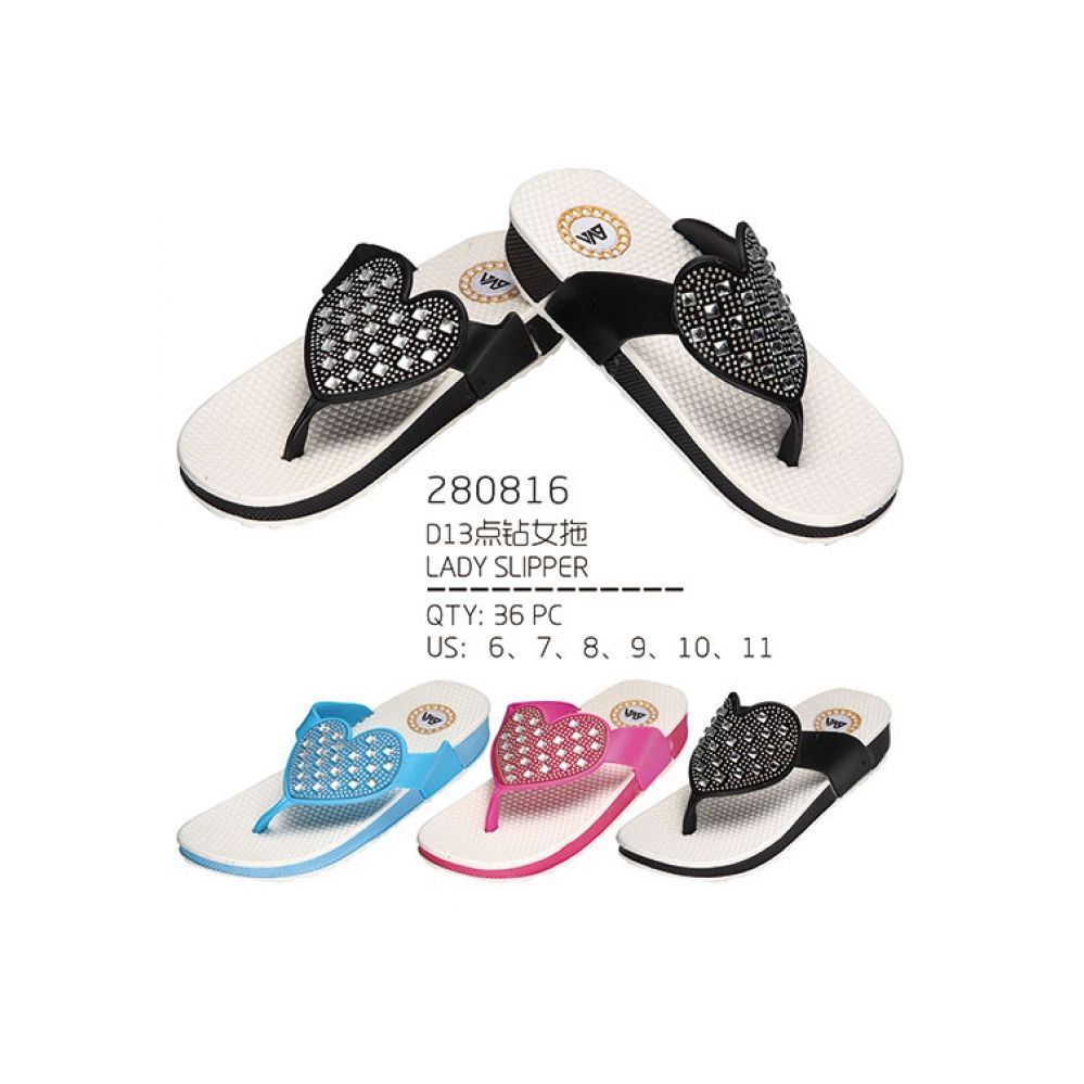 Wholesale Footwear Woman's Fashion Flip Flops