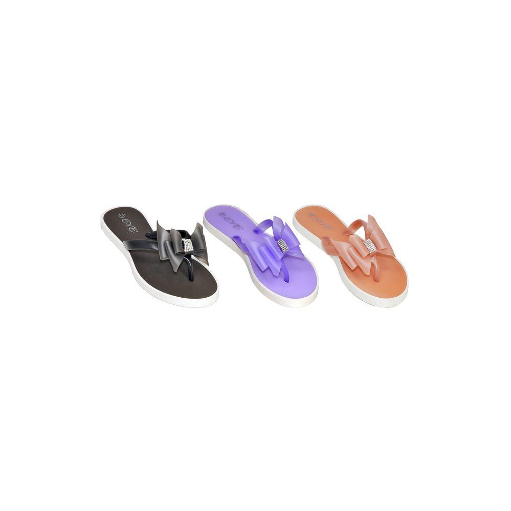 Wholesale Footwear Womans Pvc Fashion Flip Flop
