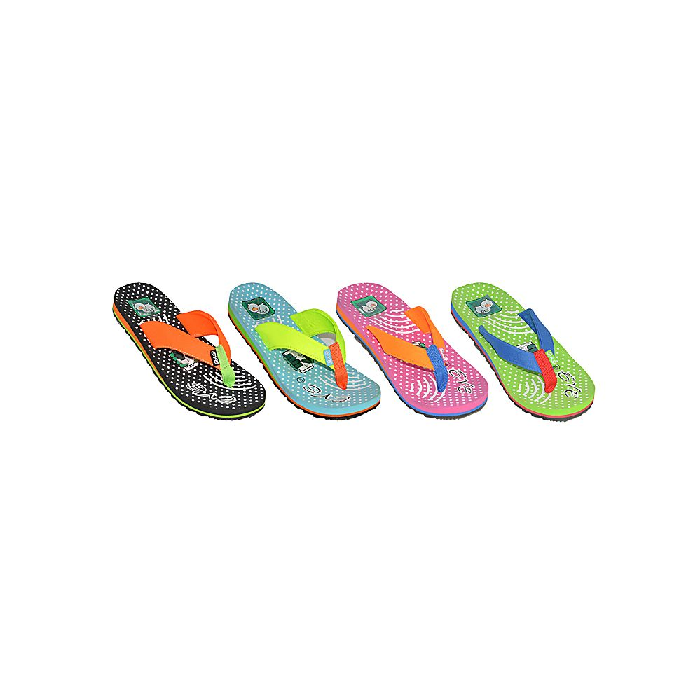 Wholesale Footwear Womans Colorful Flip Flop