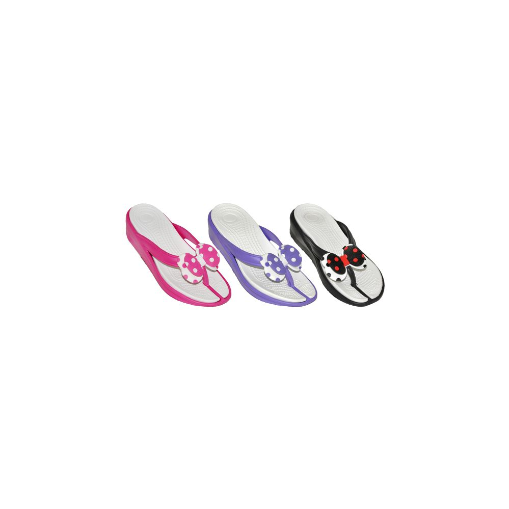 Wholesale Footwear Womans Bow Flip Flop