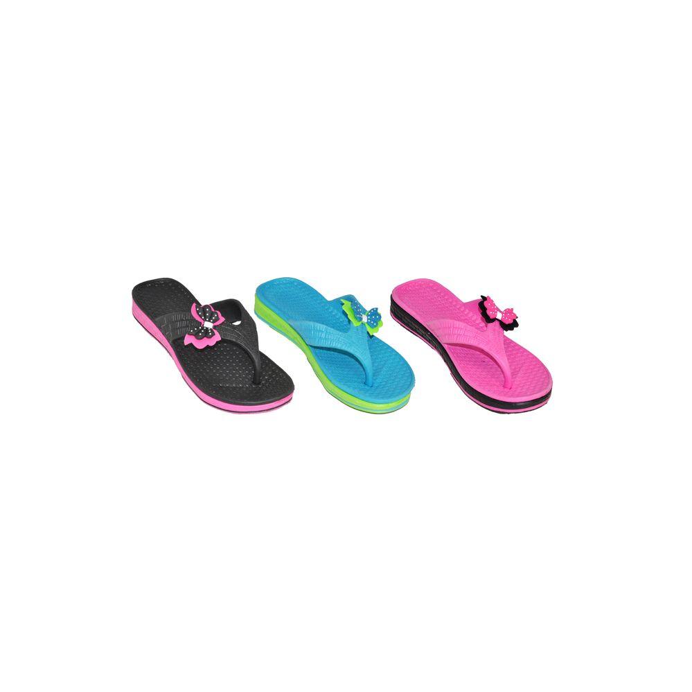 Wholesale Footwear Womans Flip Flop With Butterfly