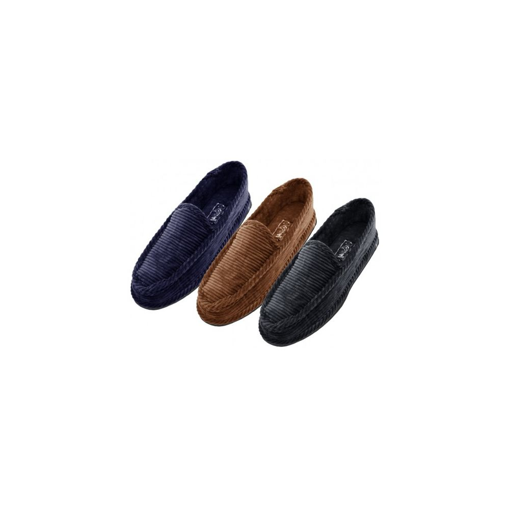 6be931533bcd Wholesale Footwear Wholesale Men Closed Back Corduroy Slippers - at ...