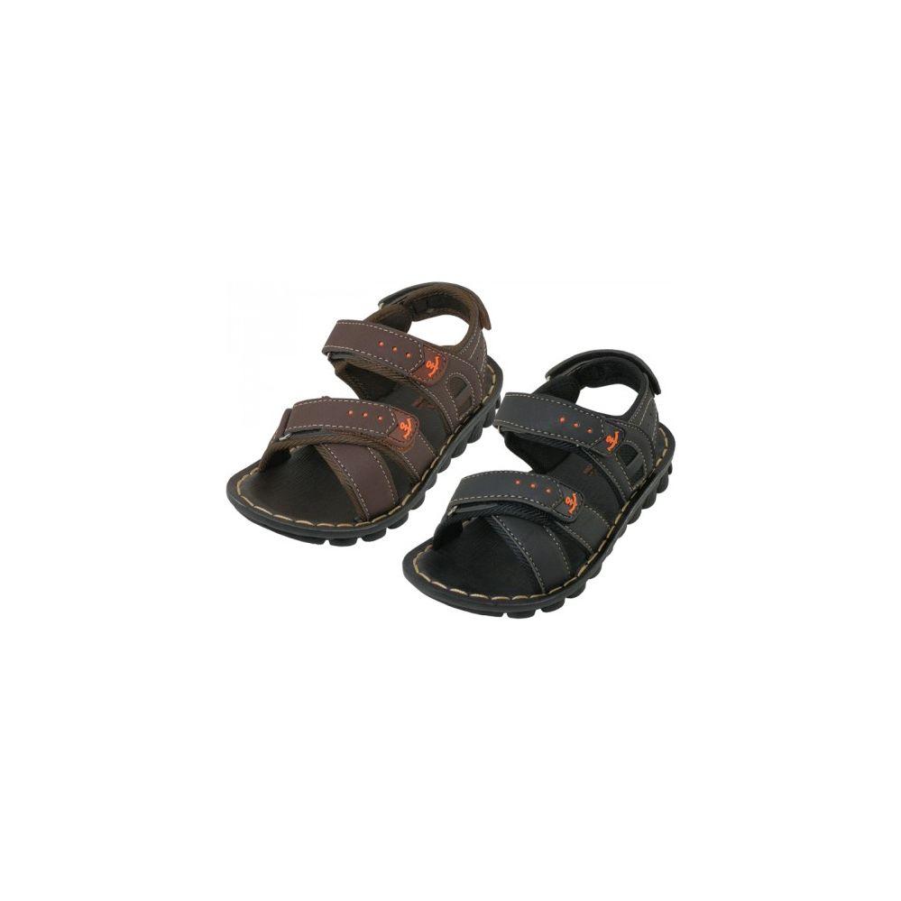 Wholesale Footwear Boy's Pu.Leather Upper Sandals