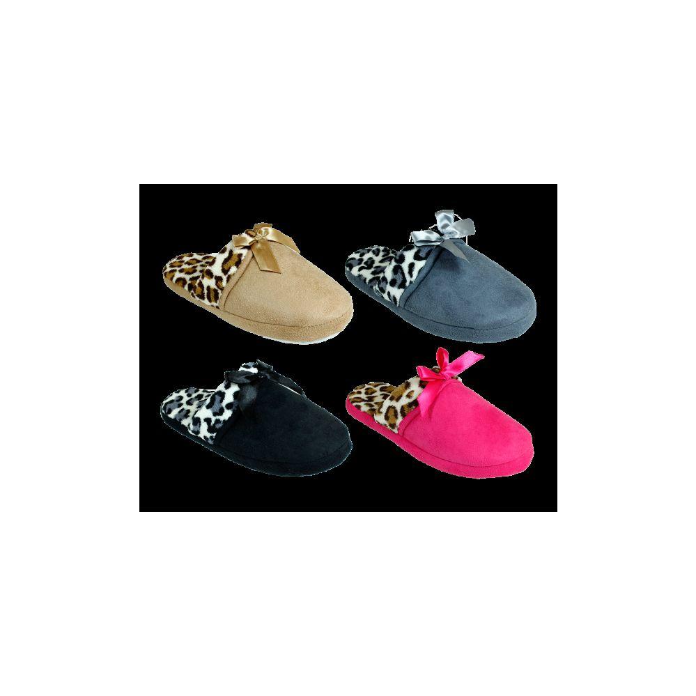 Wholesale Footwear Women's Winter Printed Slippers