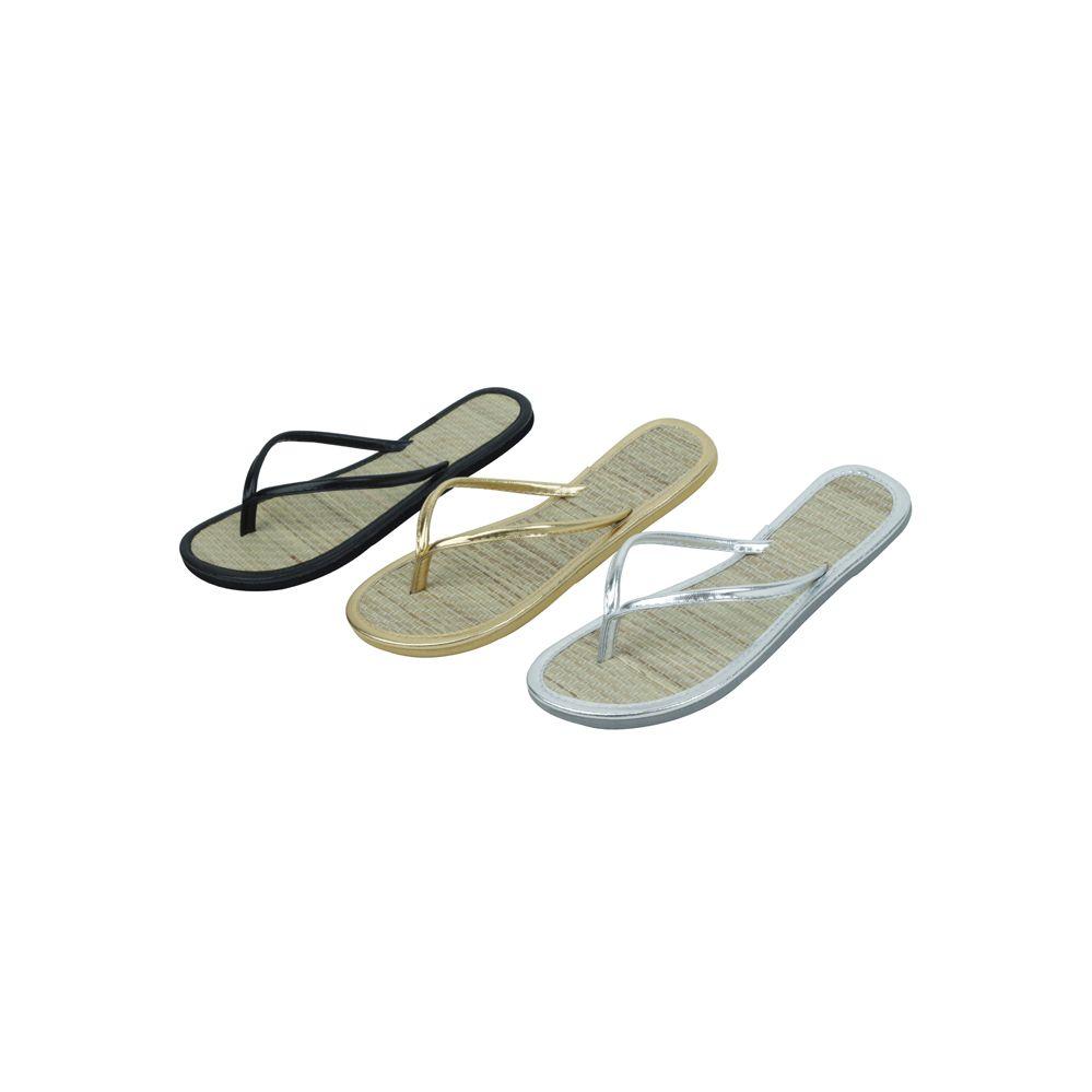 Wholesale Footwear Ladies' Bamboo Flip Flop