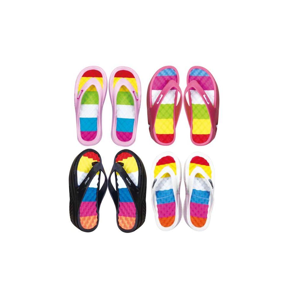 Wholesale Footwear Women's Heel Flip Flops