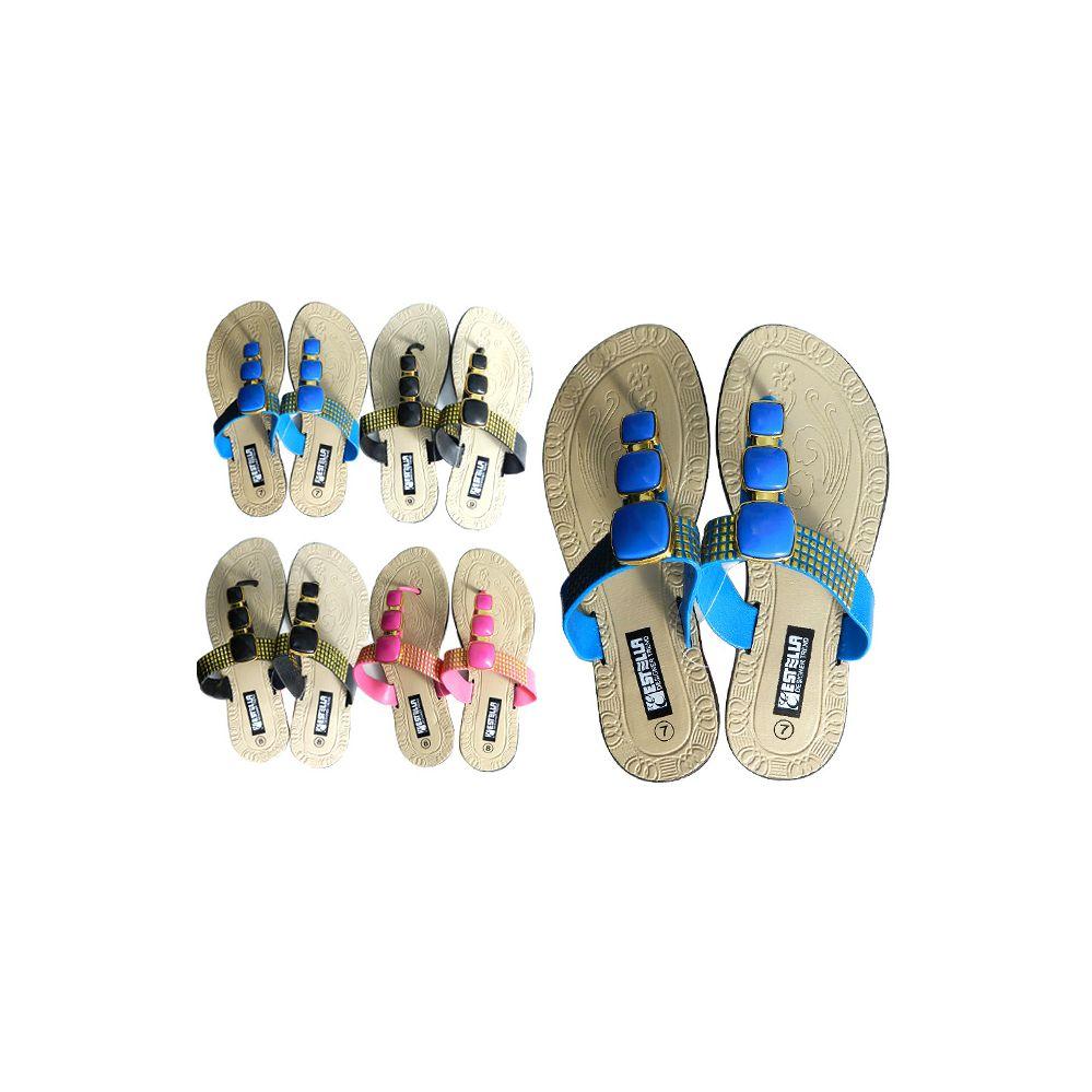 Wholesale Footwear Women's Slipper 4 Assorted Colors