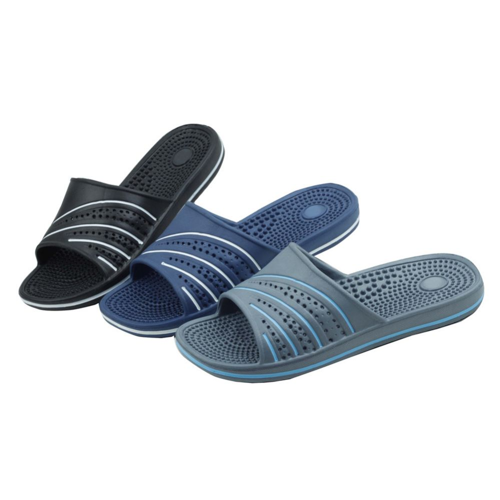 Wholesale Footwear Men's Shower And Massage Slippers