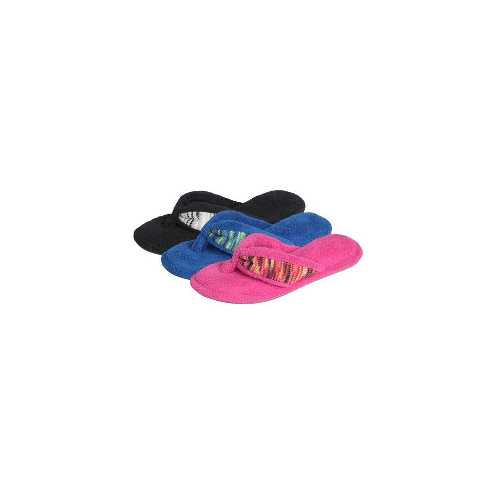 Wholesale Footwear Women's Plush Flip Flop