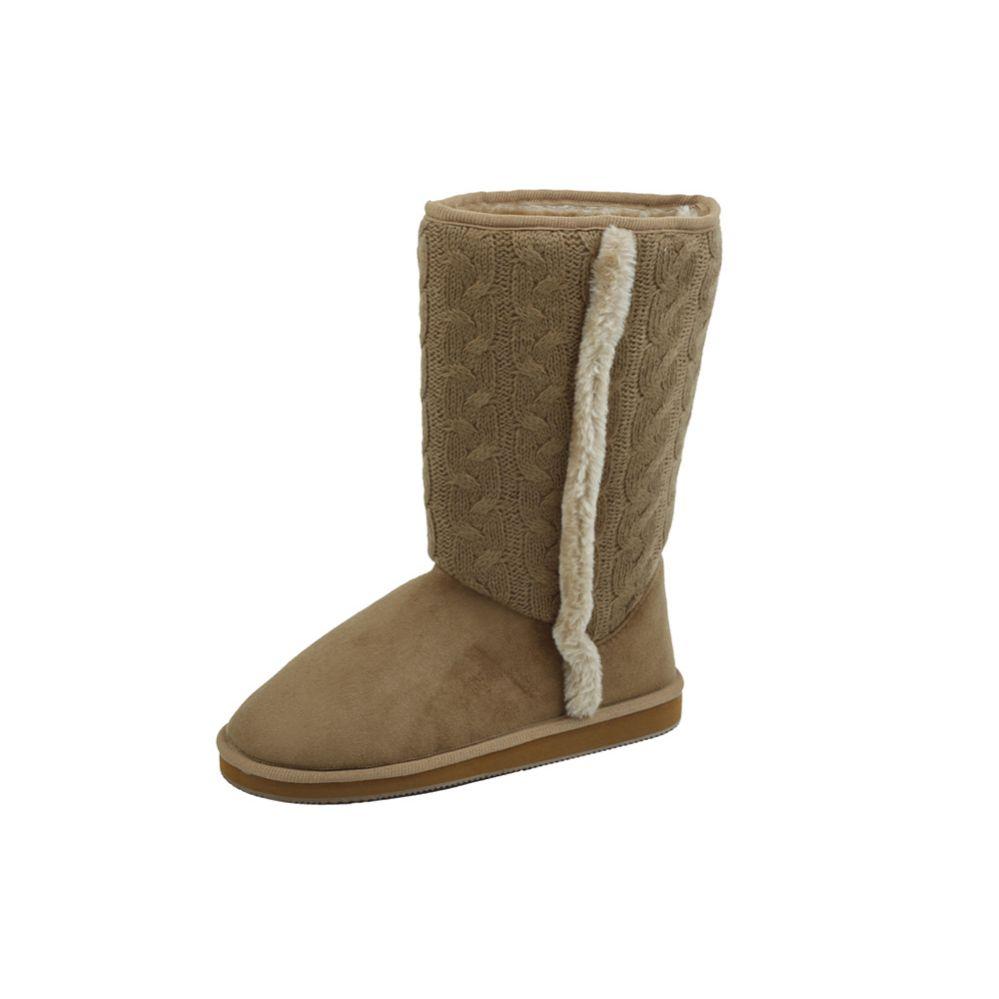 Wholesale Footwear Ladies Boots Tan