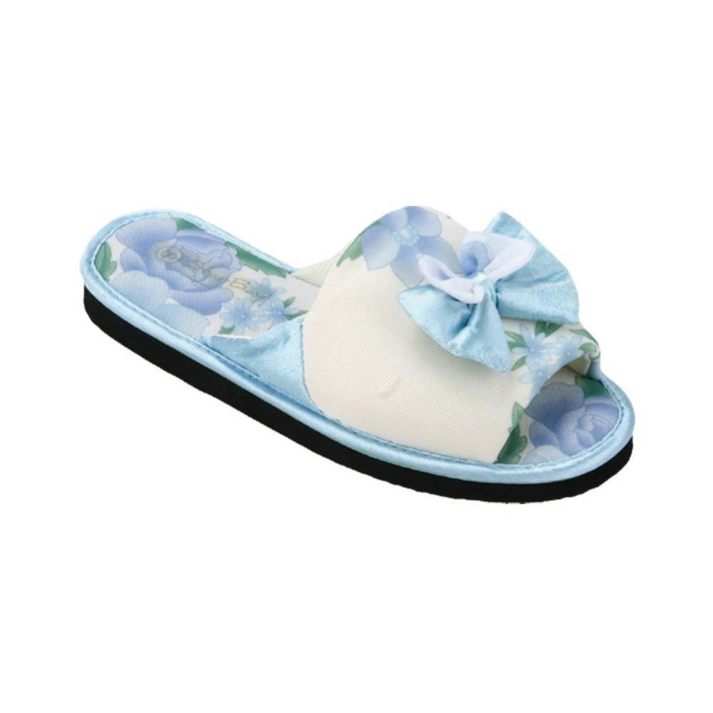 Wholesale Footwear Ladies' Textile Slipper Assorted Colors