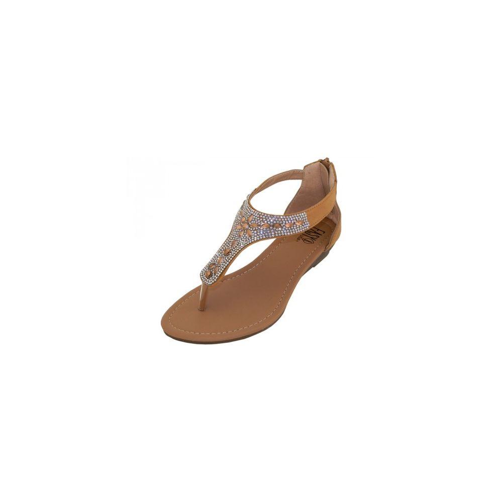 507632546082c5 Wholesale Footwear Lady White Rhinestone Sandals With Back Zipper Beige  Size 5-10