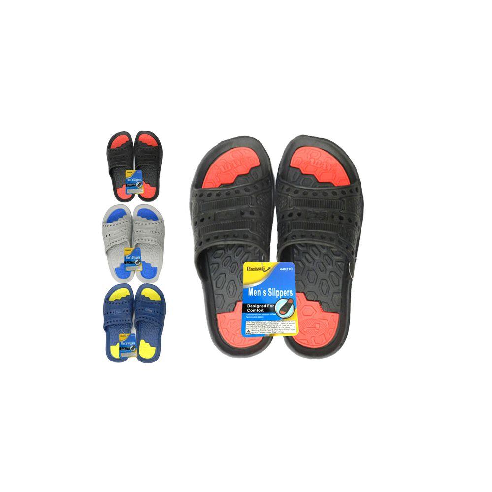 Wholesale Footwear Men's 2-Tone Eva Sandals