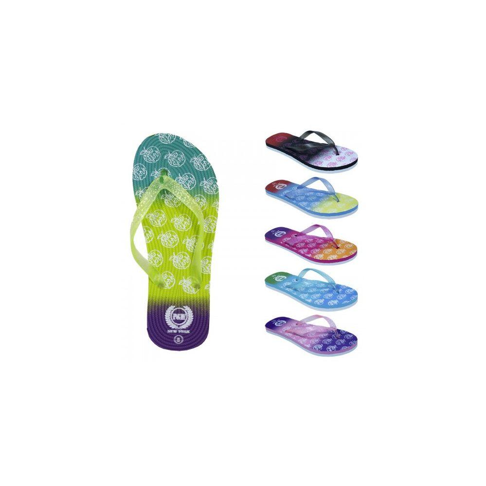 Wholesale Footwear Women's Glitter Flip Flop