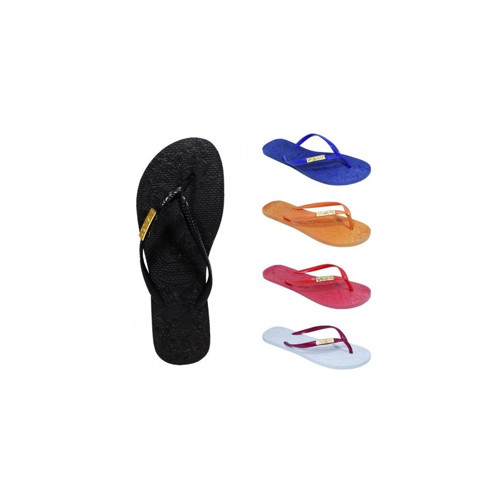 Wholesale Footwear Women's Solid Color Flip Flop