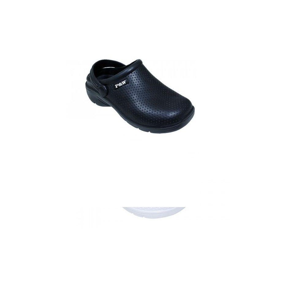 Wholesale Footwear Ladies' Black Garden Clogs