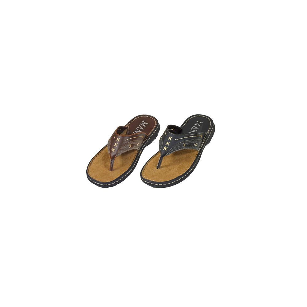 Wholesale Footwear Mens Flip Flops With Stitching