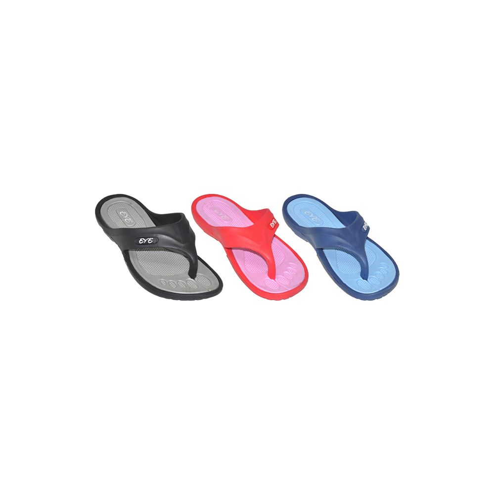 Wholesale Footwear Ladies Assorted Sport Flip Flops