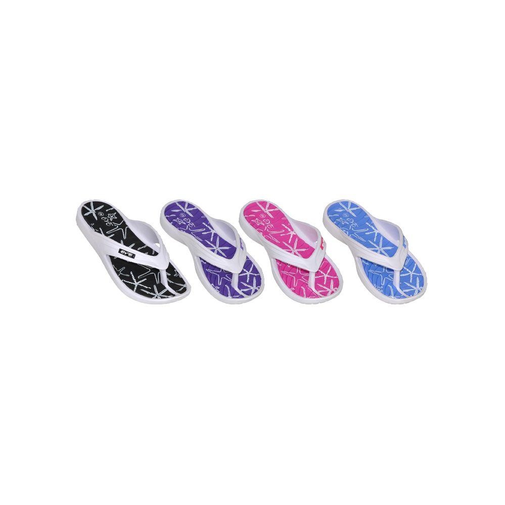 Wholesale Footwear Women's Casual Beach Flip Flops